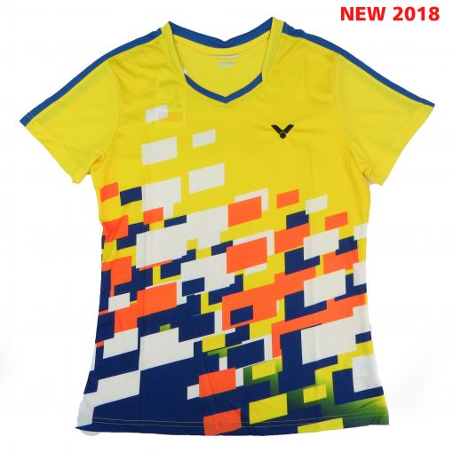 Áo Cầu Lông Victor 1120 (Màu Vàng) Mẫu New 2018