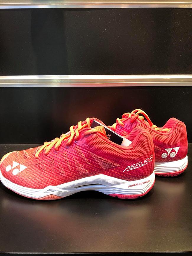 Giày cầu lông Yonex Aerus 3 Ladies ( Cam) New 2018