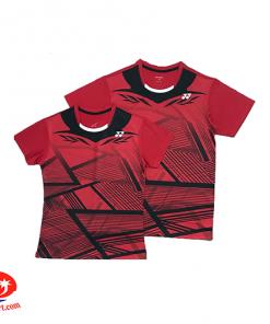 Áo Cầu Lông Yonex AT04 (Màu Đỏ ) New 2019
